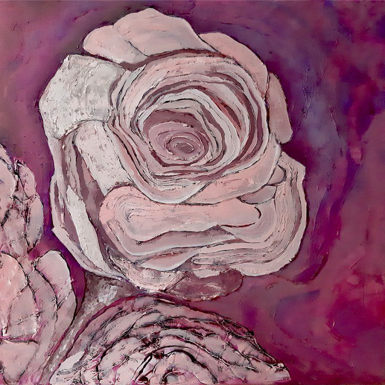 RosaMystica - schilderij van de roos